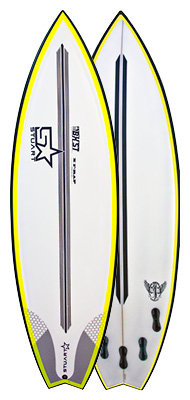 second hand surfboards gold coast - spray 8
