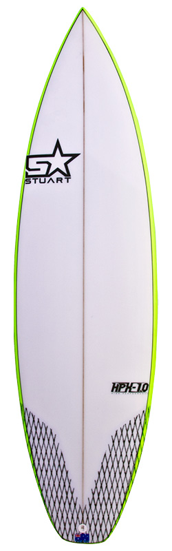 stuart surfboards hpx 1 front colour