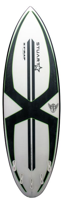 stuart surfboards bender mini gun x f rap back colour