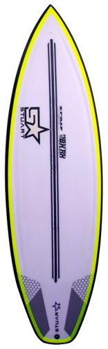 stuart surfboards bender x f rap front colour