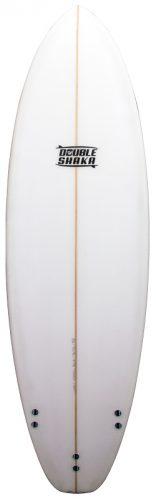 stuart surfboards double shaka back white