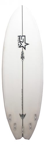 stuart surfboards fx rocket back white