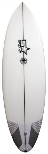 stuart surfboards jolly roger front white