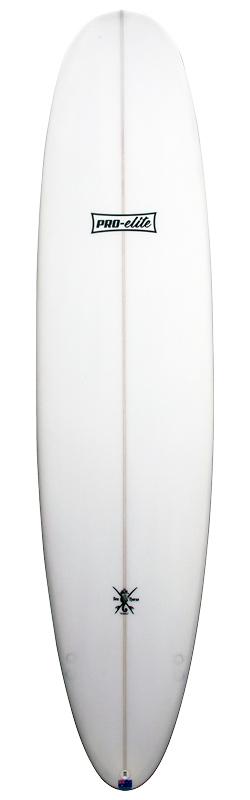 stuart surfboards pro elite mal front white