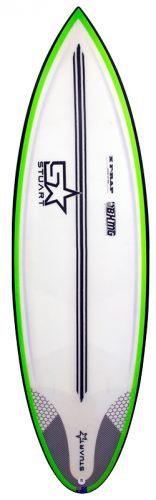 surf shop bender mini gun x f rap front colour