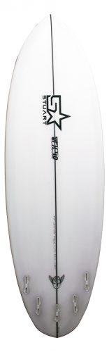 surf shop fx 4 round back white