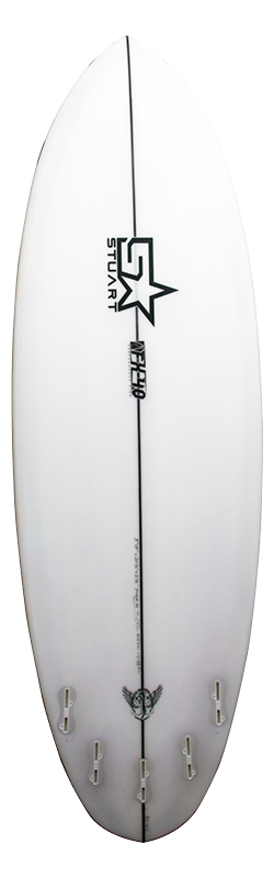 surf shop fx 4 round back white