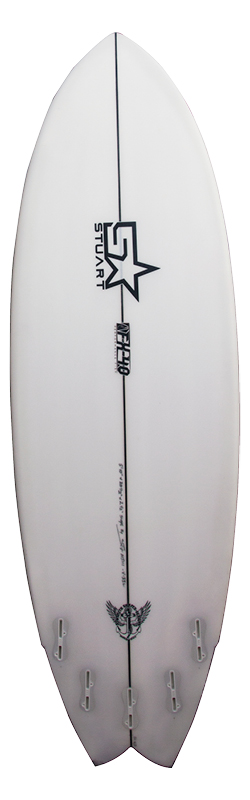 surf shop fx 4 swallow back white