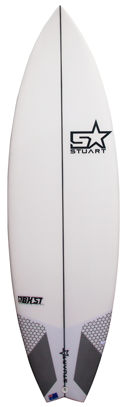 surfboards gold coast bender step front white