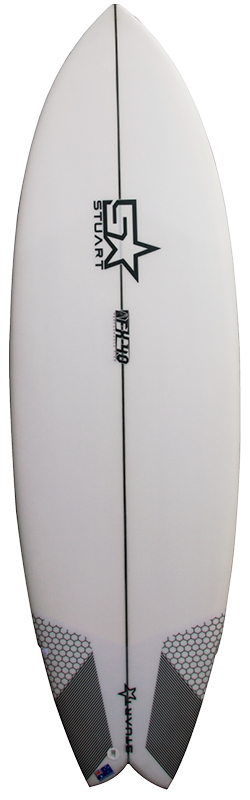 surfboards gold coast fx 4 swallow front white