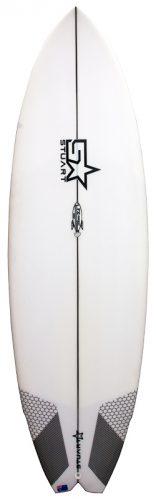 surfboards gold coast fx 3 rocket front white