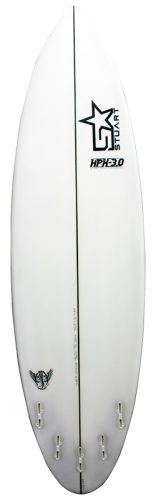 surfboards gold coast hpx 3 back white