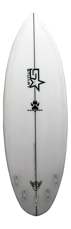 surfboards gold coast pantera back white